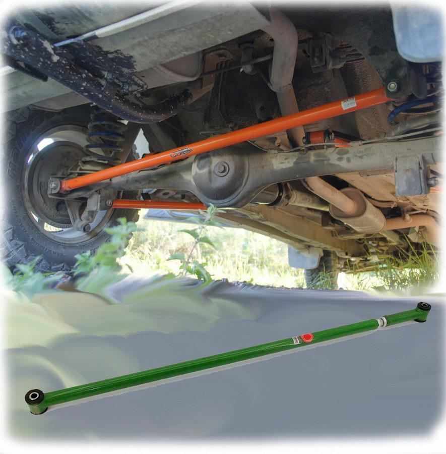 Тяга панара регулируемая установленная на автомобиль, вид снизу
