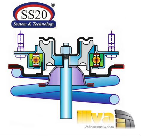 Опоры стоек передних ss20 стандарт для
