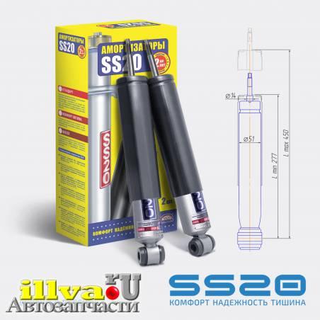 Передние стойки (Амортизаторы) СС20 (SS20) Стандарт для Hyundai County SS20254