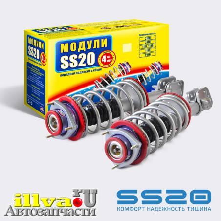 Модуль передней подвески SS20 Комфорт с опорой Мастер, для ВАЗ 2110, 2111, 2112, 21126 (2шт) 16кл, двигатель. SS99106