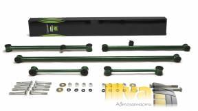 Реактивные тяги СЭВИ ЭКСТРИМ для автомобилей ВАЗ 2101-2107, 2121 Niva 5шт с креплением 2105-9012