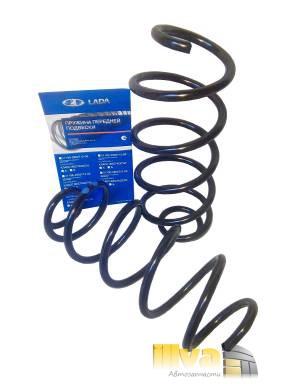 Пружины холодной навивки передней подвески (бочкообразные)