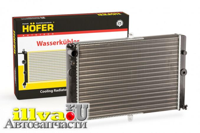 Радиатор охлаждения 2108 и модификации, универсальный, HOFER Германия (HF708412)