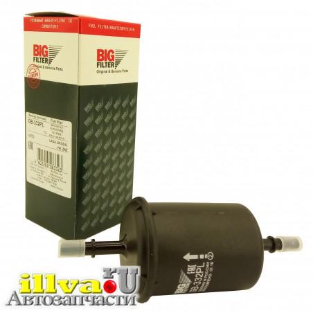 Фильтр топливный Шевроле Нива, Приора, Калина, Гранта, Фольксваген, Опель, Фиат, Шкода (инжектор) Big Filter (Биг-фильтр) GB-332PL (корпус - пластик)