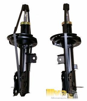 Стойки Линкс, амортизаторы на Хендай Солярис (до 02/2012), ACCENT IV (RB 1.4),  Киа Рио, передние (Hyundai Solaris) LYNXauto, Япония, (2шт.) G32908L / G32908R