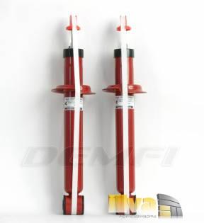 Амортизаторы задние газовые, ДЕМФИ Премиум с занижением -90 мм ВАЗ 2108 2110 1119 Калина 2170 Приора 2190 Гранта Datsun on-DO Datsun mi-DO (2шт.) 2190-2915004-90
