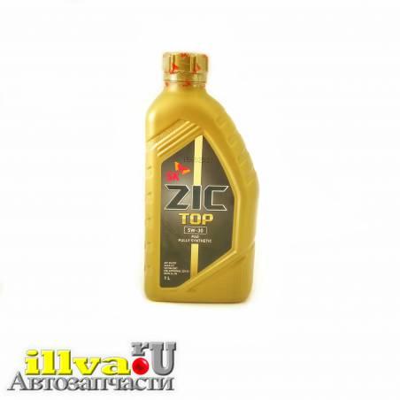 Моторное масло полностью синтетическое ZIC 5W-30 TOP C3 SN/CF 1 литр 132901