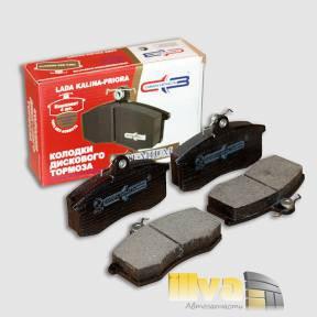 Колодки переднего тормоза, Самара-Запчасть, премиум, ВАЗ 1118 Калина и 2170 Приора (СЗ 1118-3501080) SZ20104