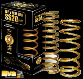Пружины холодной навивки передней подвески SS20 Gold  для автомобилей ВАЗ 2110-12, 2108 (2шт.) (SS20.34.00.001-02) SS30114