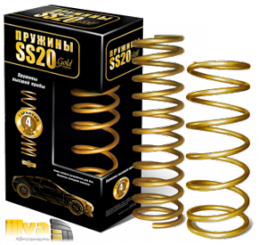 Пружины холодной навивки задней подвески SS20 Gold  для автомобили ВАЗ 2108 (SS20.35.00.001-02) SS30119