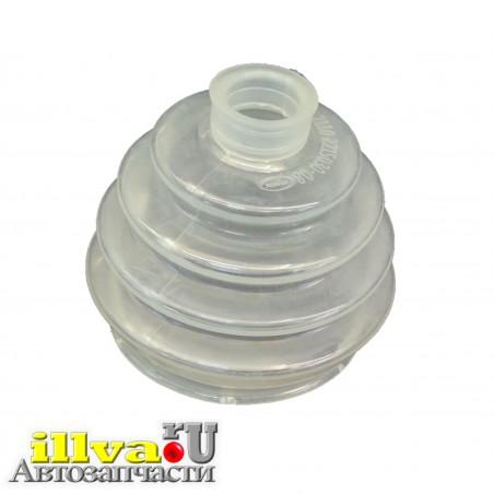 Пыльник ШРУСа, пыльник наружной гранаты ВАЗ 2110, приора, калина, гранта (прозрачный полиуретан)
