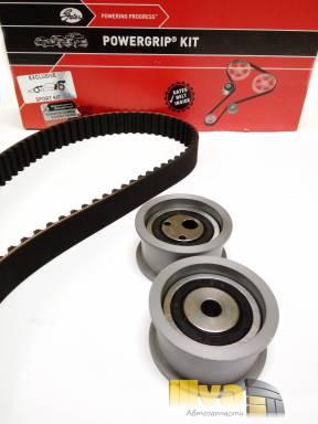 Комплект ГРМ GATES k055468XS Powergrip усиленный, 136 зубьев на  ВАЗ 2112, 2111, 16кл.-Калина