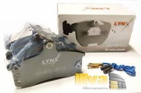 Передние тормозные колодки ВАЗ 2110, 1119 Калина, 2170 Приора с датчиком Япония LYNXauto BD4601