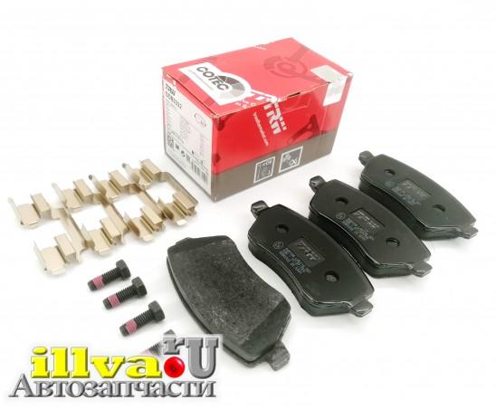 Колодки тормозные передние на Lada Vesta, Largus, Renault Logan TRW GDB3332