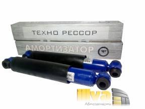 Амортизаторы задние Технорессор на автомобили ВАЗ 2101-2107 серии Classica-Techoressor-OIL с занижением -50 мм (2шт.)