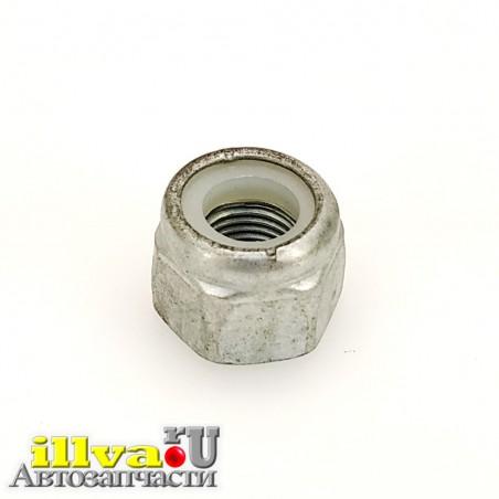 Гайка М12 * 1,25 шестигранная с контрящим нейлоновым кольцом для болтов крепления передних и задних стоек ВАЗ