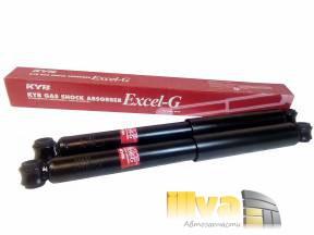 Амортизаторы задние KYB Excel-G газовые ВАЗ 2101 2107 2121 Нива  -2шт KYB-343098