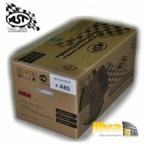 Задние Дисковые Тормоза АСТехника для ВАЗ 2108 2109 2110 2112 2114 2115 Калина Приора (с поддержкой АБС)