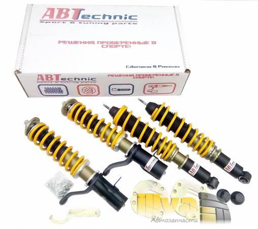 Комплект подвески с регулировкой поджатия пружины ABTechnic АБТехник СПРИНТ для ВАЗ 2108, 2110, 1118 калина, 2170 приора и 2190 гранта