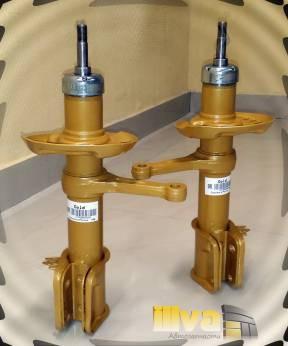Амортизаторные стойки передней подвески GOLD на автомобили ВАЗ 2190 Гранта  LADA GRANTA (2шт.) (2190-2905002)
