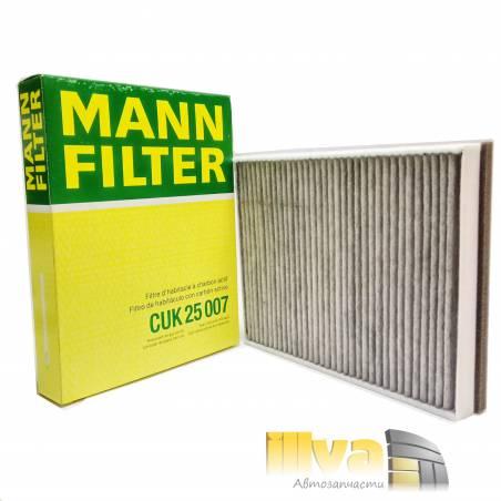 Салонный фильтр угольный на Ford Focus 3, Mann FILTER, CUK25007