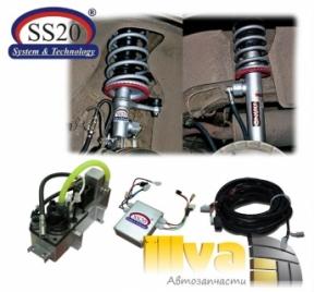 Электронно-регулируемые амортизаторы SS20 ЭРА 100 для автомобилей ВАЗ-2108, 2110, 2170 ПРИОРА, 1118 КАЛИНА