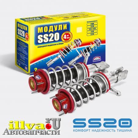 Модуль передней подвески SS20 Комфорт с опорой Спорт для ВАЗ 2110, 2111, 2112, 21126 (2шт) для 8 и 16 кл, двигателей. SS99108
