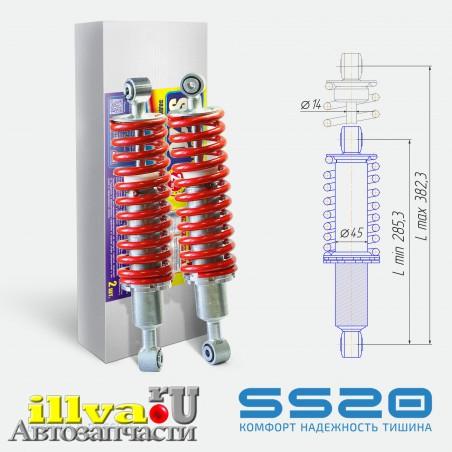 Амортизаторы задние в сборе SS20 Cross Спорт для ATV CFMOTO X5, X6, X8 401B-060500 SS25013