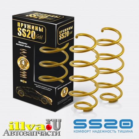 Пружины передней подвески, серии SS20 GOLD, для автомобилей ВАЗ 1119 калина (16 кл) , 2170 приора, 2190 гранта (2шт.) SS30118