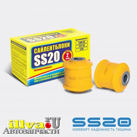 Полиуретановые втулки амортизатора задней подвески SS20 ВАЗ 2108  (2шт.) (SS20.72.01.000-02) 2108-010-2915446-01  SS70101