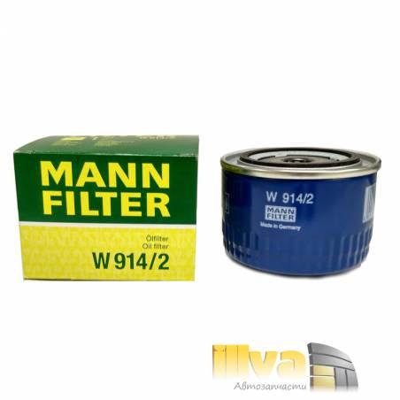 Фильтр масляный MANN W914/2 для ВАЗ