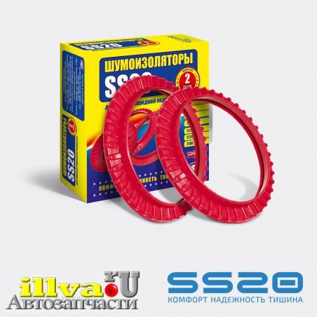 Шумоизоляторы передней подвески SS20 для автомобилей ВАЗ 2108 2110 2 шт - SS20.70.00.004-02 - арт SS64102