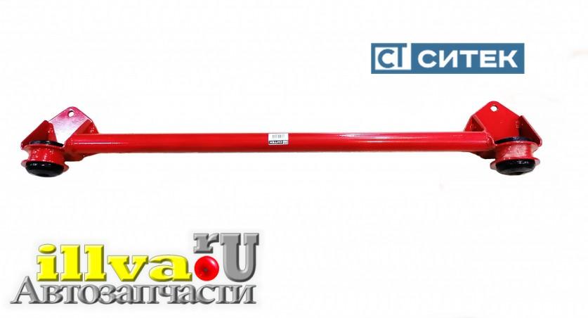 Поперечина - нижняя растяжка передней подвески 2108-2115 СИТЕК ПРОФИ с полиуретановыми сайлентблоками - передняя балка