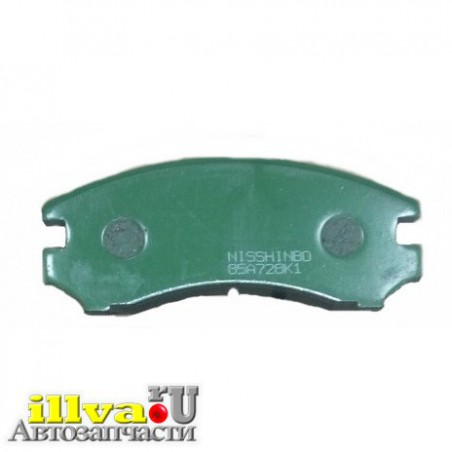 Колодки тормозные для задних дисковых тормозов аналог АСТ AST АСТехника 0170-3502090-01 Комплект (4 шт)