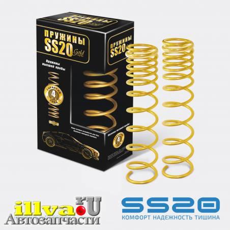 Пружины задние SS20 Gold Progressive для автомобилей ВАЗ универсал, 2111, 2171 Приора, Калина 2 (SS20.37.00.001-03) холодной навивки, переменный шаг SS30129