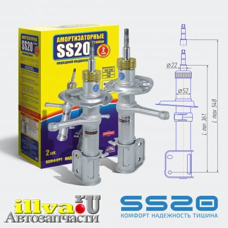Амортизаторы передние SS20 Спорт для ВАЗ 1119