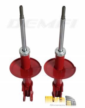 Амортизаторные стойки передние Демфи Премиум Газ на Renault Logan Логан (2шт.) DRL-2905002-13