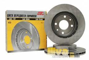 Тормозные диски (вентилируемые)  R13