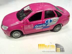 Модель автомобиля LADA 2190 GRANTA Тест-драйв (размер 1:36) (коллекционная игрушка)