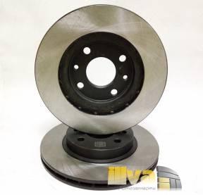 Диски тормозные передние TRIALLI (диски вентилируемые ТРИАЛЛИ) на ВАЗ 2110, R13, (2шт.) DF 710