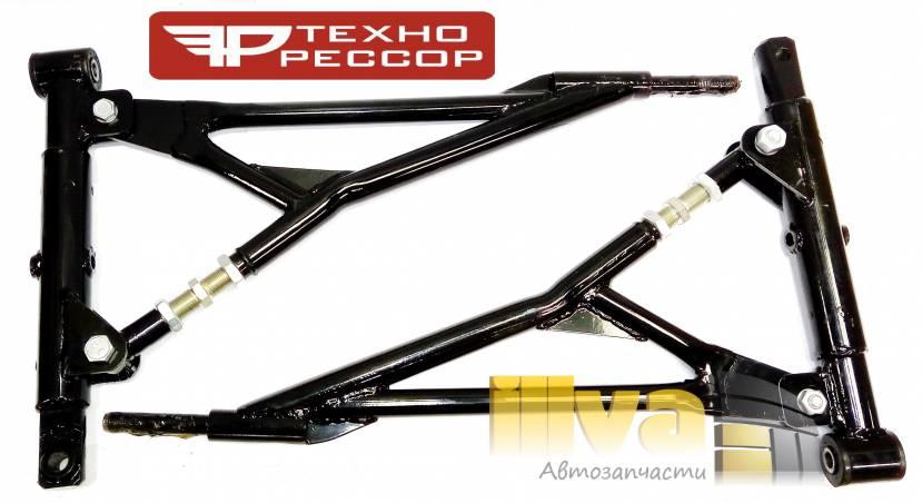 Рычаги передние ВАЗ 2108- 2114, 2110 - 2170, 1118 - 2190 Технорессор треугольные рычаги с резиновыми втулками