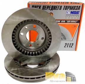Тормозные диски вентилируемые  R14 АЛНАС на ВАЗ 2112 2170 2190 2шт