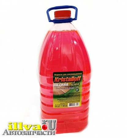 Жидкость для стекол летняя 5 литров