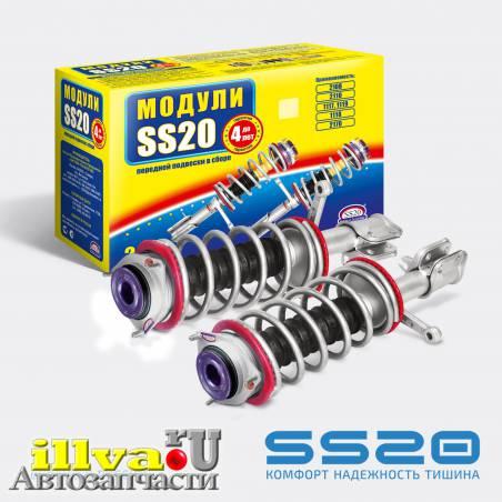 Модуль передней подвески SS20 Комфорт с опорой КВИН для ВАЗ 2110, 2111, 2112, 21126 (2шт) для 8 и 16 кл, двигателей. SS99107