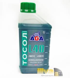 Тосол, AGA L40 (-40°С +115°С) 1 литр