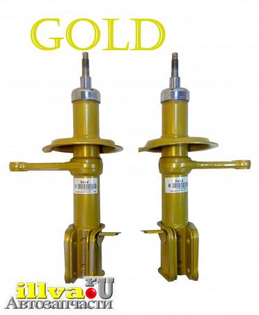Амортизаторные стойки передней подвески GOLD на автомобили ВАЗ 2110-2112 Lada 110 (2шт.) (2110-2905002)