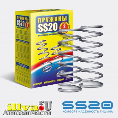 Пружины передней подвески SS20 ВАЗ 2108, 2110 для 8-ми клапанных двигателей (2шт.) (SS20.33.00.001-01) SS30101