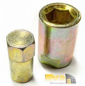 Ключ для снятия задней стойки ВАЗ 2108, 2110, 2170, 2190, приспособление для снятия заднего амортизатора (металлический - цинк) Автом - 2