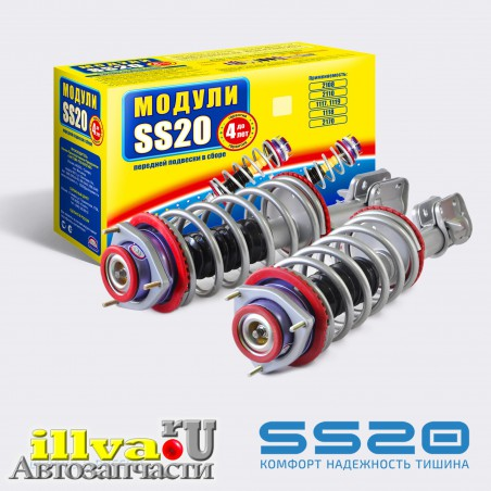 Модуль передней подвески SS20 Стандарт с опорой Мастер для ВАЗ 2110, 2111, 2112, 21126 (2шт)  SS99122