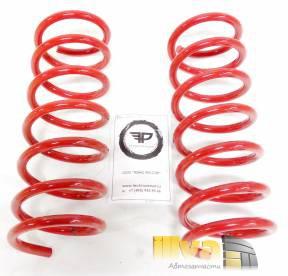 Пружины задние Технорессор с занижением -30 мм на автомобили Mazda 3, Ford Focus 2 Форд Фокус 2